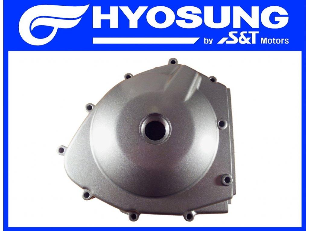 [2] Boční kryt motoru (motor - kryty skříně) - Hyosung GT 650 N