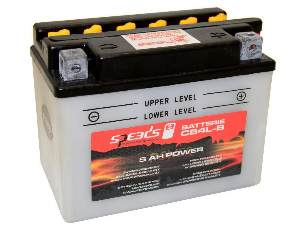 Baterie SPEEDS CB4L-B, 5 AH (12V, 5Ah)