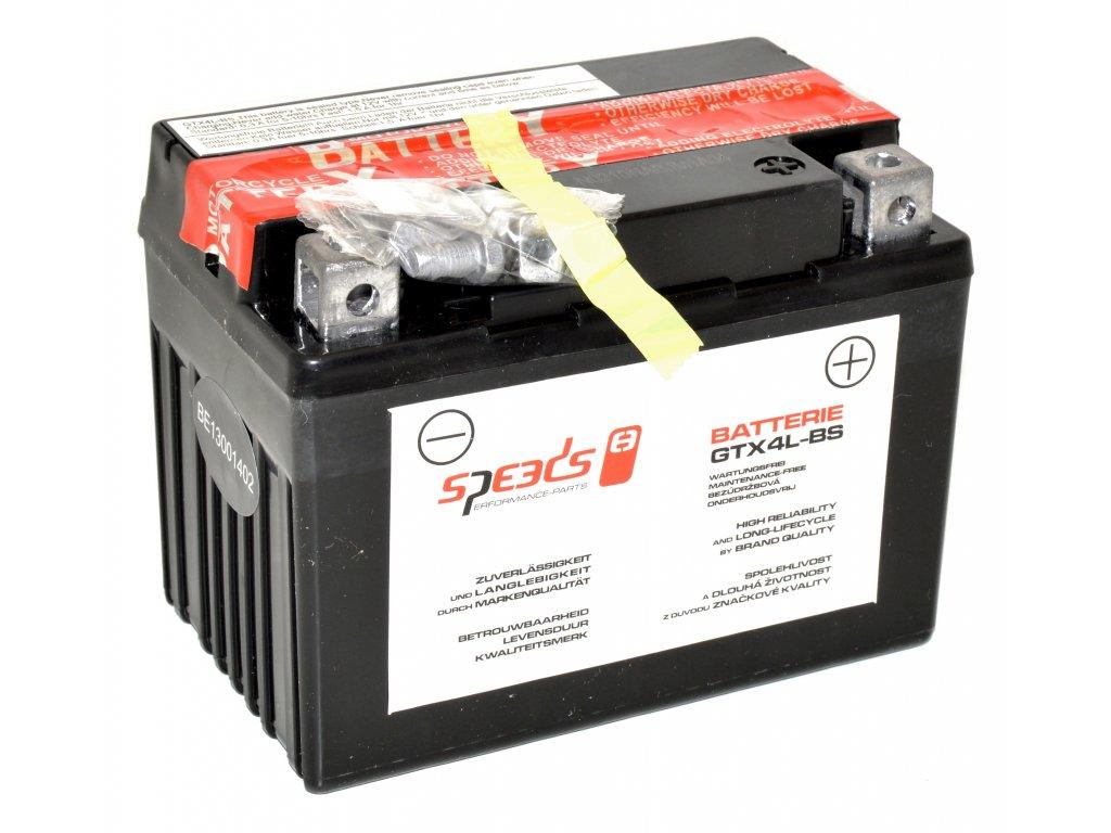 Baterie SPEEDS GTX4L-BS (12V, 3Ah)