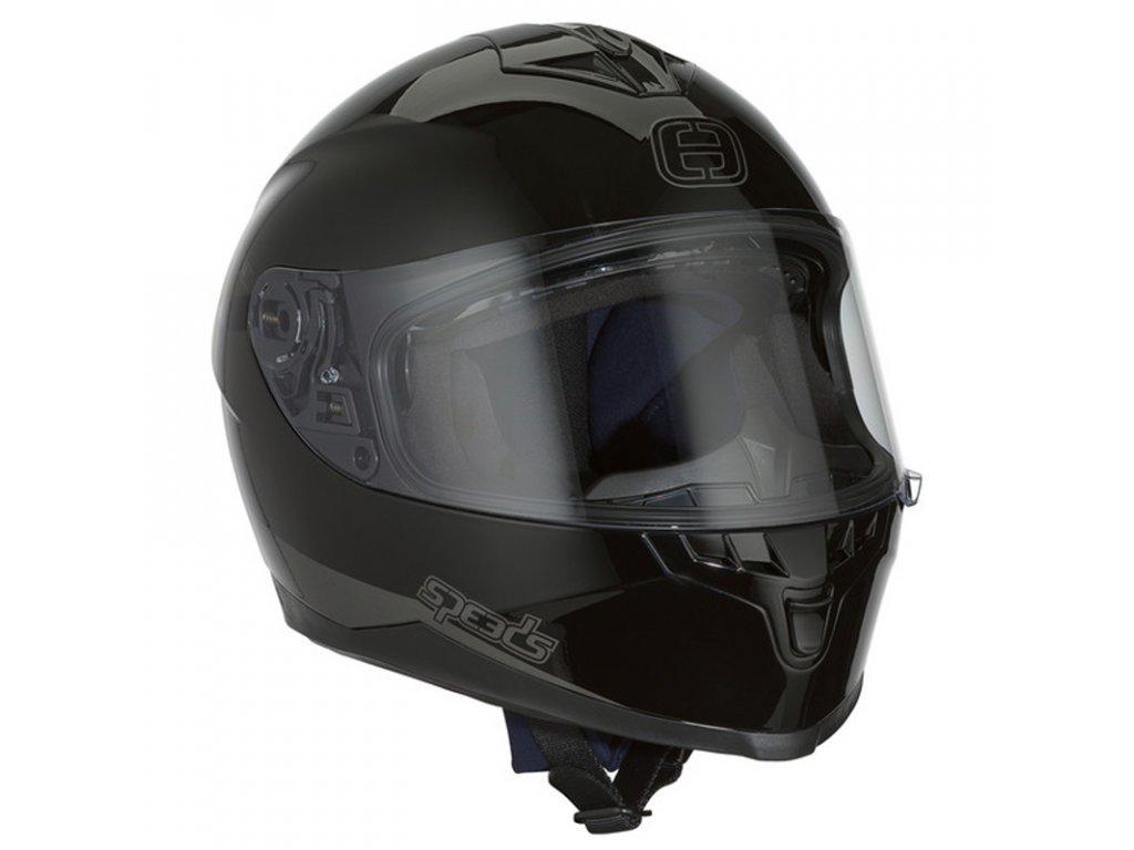 Helma SPEEDS RACE II UNI / černá lesklá