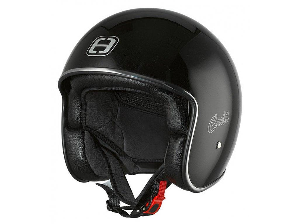 Helma SPEEDS CULT / černá metalíza lesklá