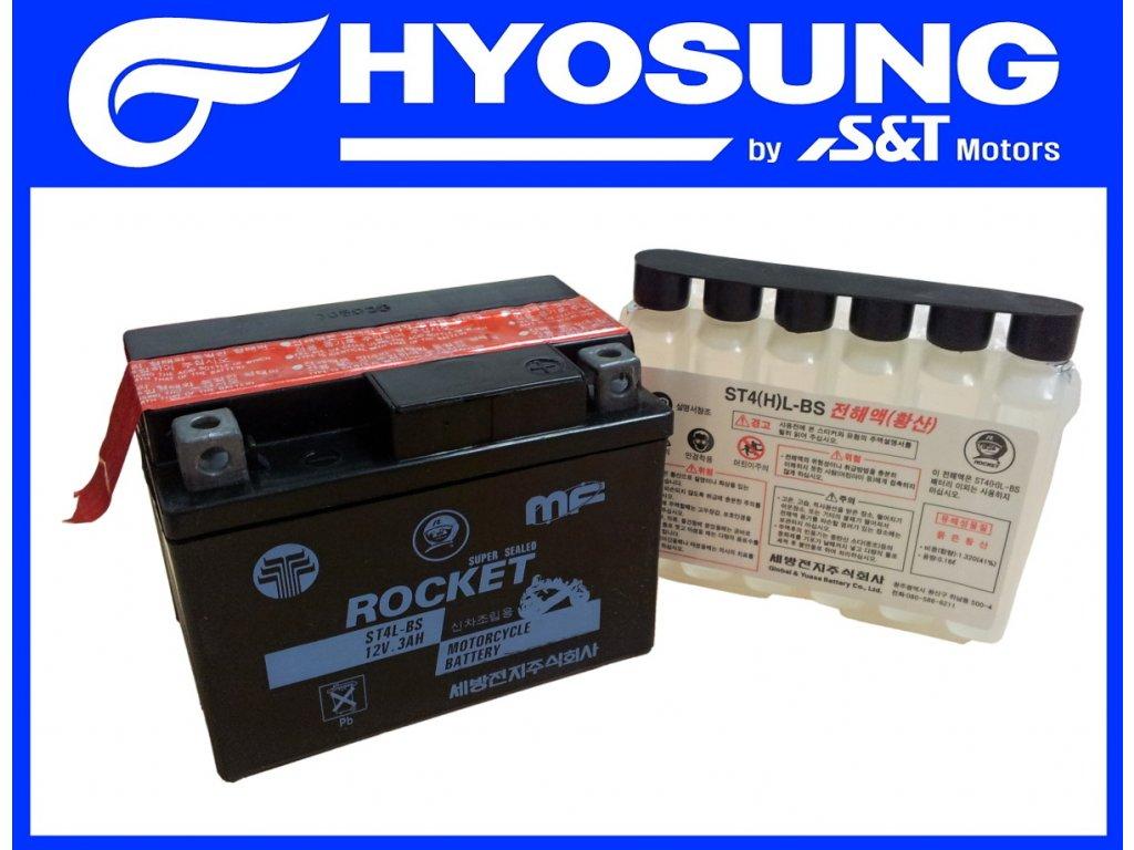 [5] Baterie (elektrické jednotky) - Hyosung SB 50 (RUSCH) 1995 - 1996
