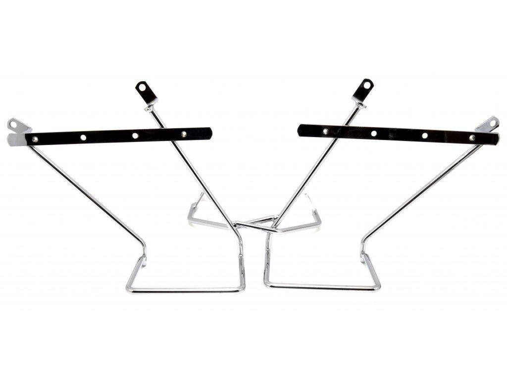 Boční nosiče brašen / sada (Hyosung GV 650 / Hyosung GV 650i)