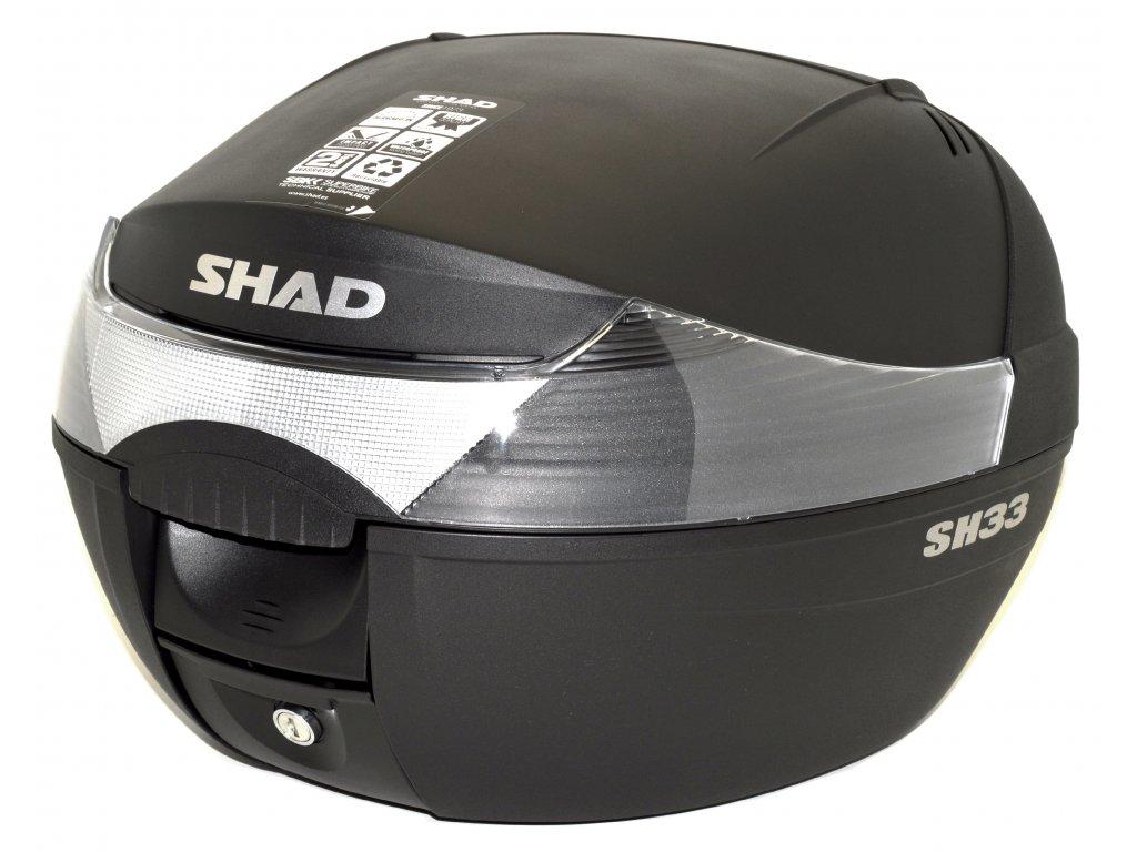 Zadní moto kufr SHAD SH33 33 litrů