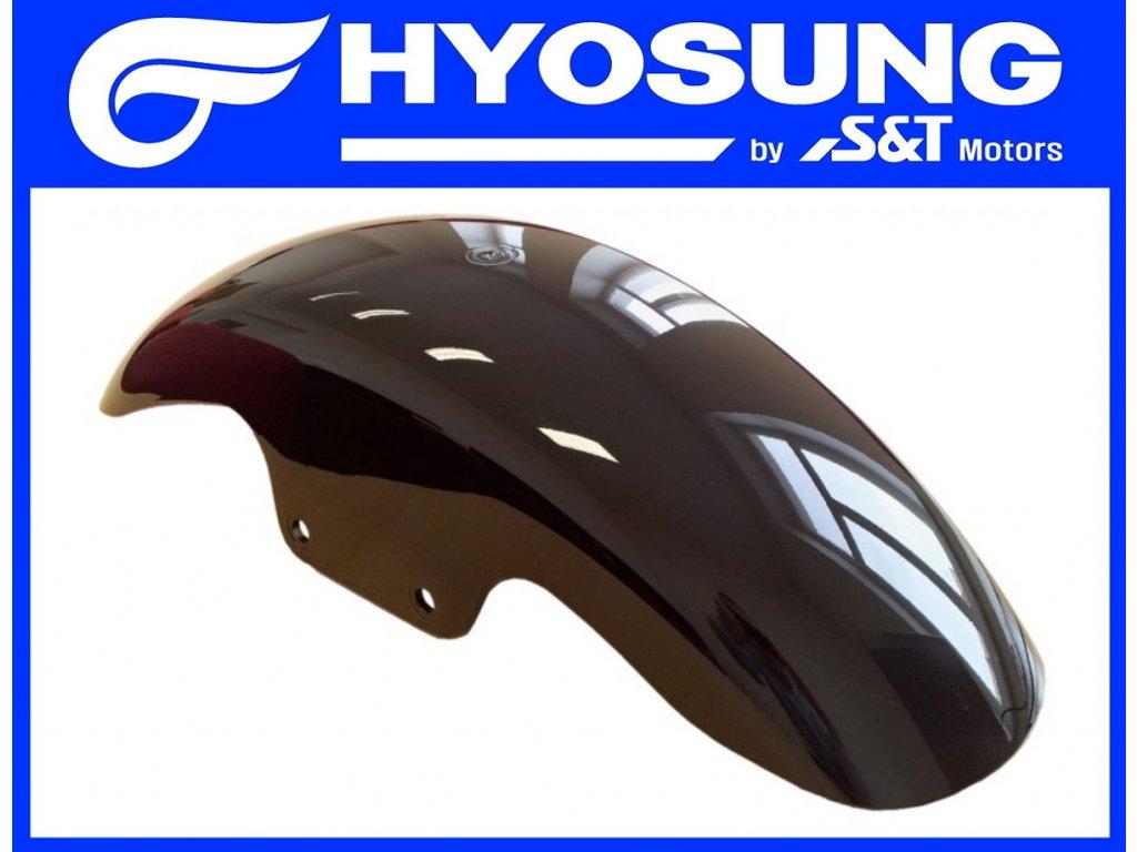 [1] Blatník přední / černý (FIG36) - Hyosung GT 125 N E