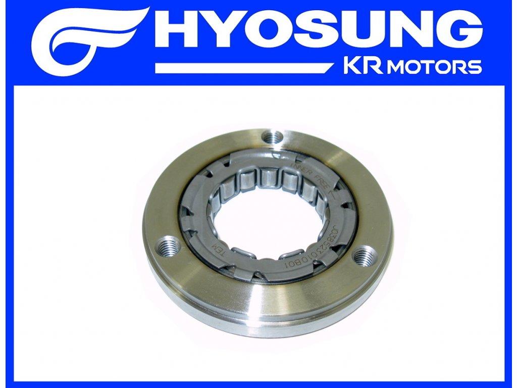 [4] Volnoběžka (volnoběžka startéru) - Hyosung MS3 250i