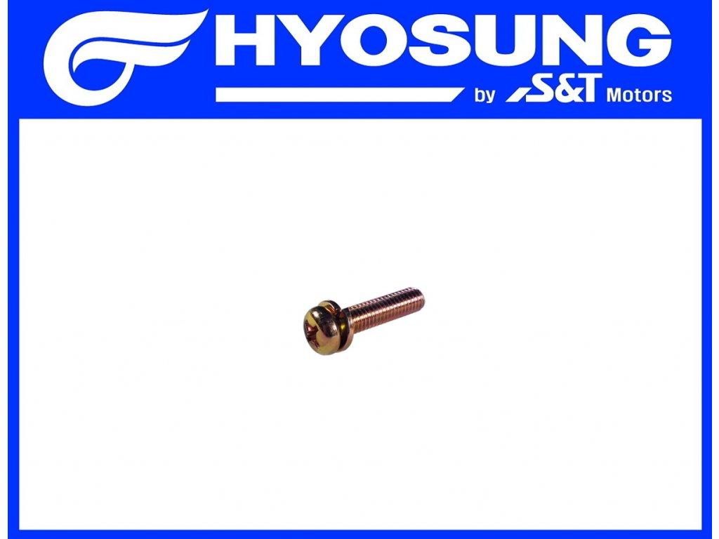 [10] Šroub (alternátor) - Hyosung SF 50 (PRIMA)