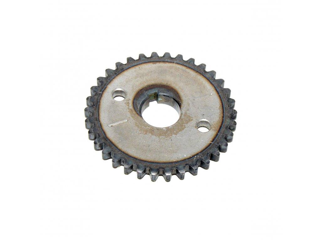 [2] Ozubené kolo (vačkový hřídel / ventilový pohon) - Hyosung RX 125
