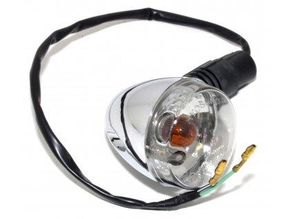 [1] Blinkr pravý přední kompletní (FIG23) - Hyosung GV 250i D (FI Delphi)