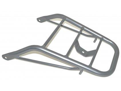 Nosič zadní / stříbrný (Hyosung RX 125 / Hyosung RX 125 SM E3 / Hyosung RX 125D E3)