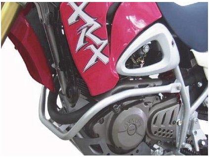 Ochranný rám motoru / stříbrný (Hyosung RT 125 / Hyosung RT 125D E3)