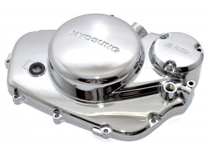 [1] Boční kryt motoru / chromovaný (FIG05) - Hyosung GV 125
