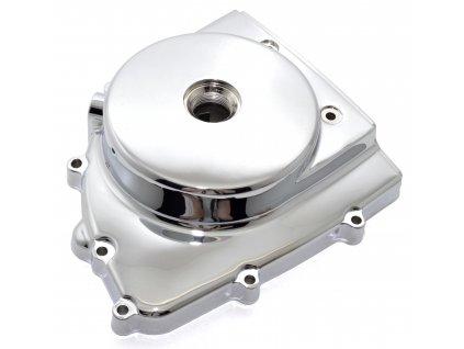 [2] Boční kryt motoru / chromovaný (FIG05) - Hyosung GV 125