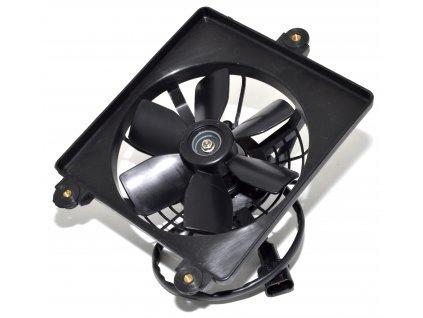 [3] Ventilátor chladiče kompletní (FIG03) - Hyosung GT 650i R K (GT 650 RC)