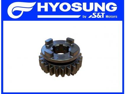 [3] Ozubené kolo / 6 rychlostní stupeň (převodovka) - Hyosung GT 650 S & R