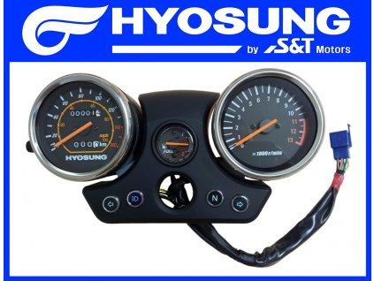 [1] Tachometr kompletní (FIG21) - Hyosung GT 125 N