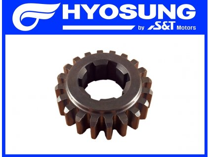 [4] Ozubené kolo / 2 rychlostní stupeň (převodovka) - Hyosung GT 650 S & R