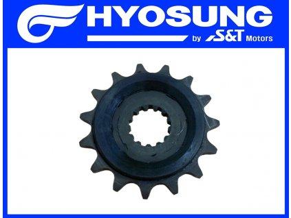 [30] Řetězové ozubené kolo 15T / rozeta (FIG19) - Hyosung GT 650i R K (GT 650 RC)