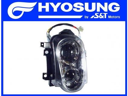 [1] Světlomet kompletní (přední světlomet) - Hyosung GT 125 R