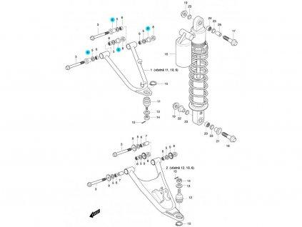 [4] Pouzdro (FIG47) - Hyosung 450 Sport