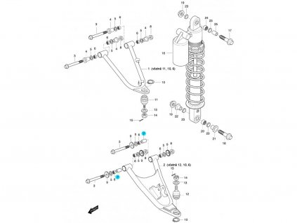[7] Pouzdro (FIG47) - Hyosung 450 Sport