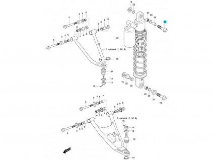 [17] Šroub (FIG47) - Hyosung 450 Sport