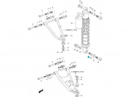 [20] Ložisko (FIG47) - Hyosung 450 Sport