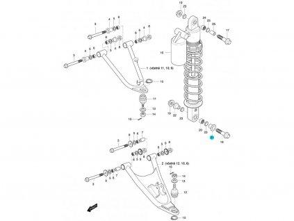 [21] Pouzdro (FIG47) - Hyosung 450 Sport