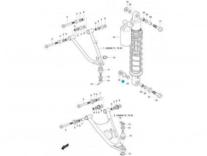 [22] Pouzdro (FIG47) - Hyosung 450 Sport