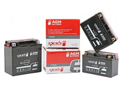 [1] Baterie SPEEDS AGM YTX7A-BS / 12V, 8Ah (FIG19) - Hyosung GV 125
