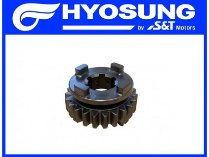 [3] Ozubené kolo / 6 rychlostní stupeň (převodovka) - Hyosung GT 650 N