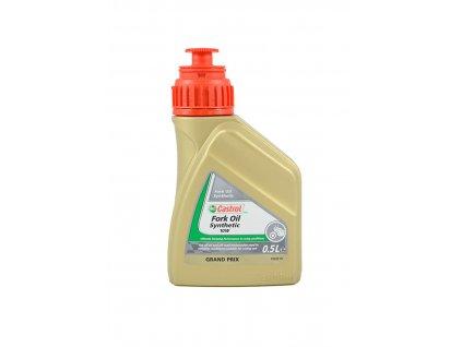 Olej CASTROL Synthetic Fork Oil SAE 10W, 0,5 Litrů