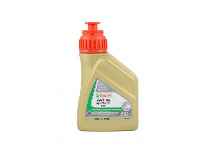 Olej CASTROL Synthetic Fork Oil SAE 10W, 0,5 Litrů