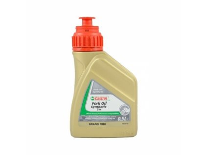 Olej CASTROL Synthetic Fork Oil SAE 5W, 0,5 Litrů