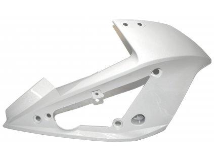 [3] Kapota přední pravá / bílá perleť (kapotáž přední horní) - Hyosung GT 650i R K (GT 650 RC)