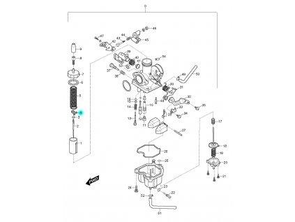 [4] Svorka (FIG10) - Hyosung RX 125