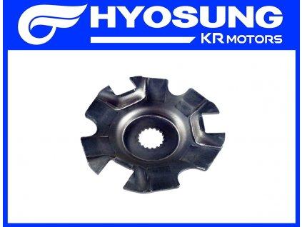 [3] Talíř přítlačný (FIG16) - Hyosung GPS 125 Hyper / Grand Prix