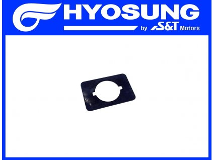 [21] Podložka (zadní kryty a stupačky) - Hyosung SF 50 (PRIMA)
