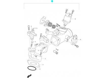 [0] Vstřikování kompletní (FIG10) - Hyosung MS3 250i