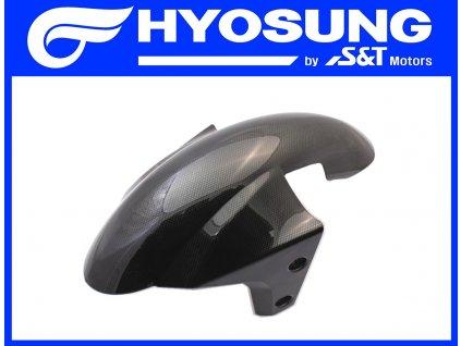 Blatník přední / karbonový design (Hyosung GD 250i N Exiv)