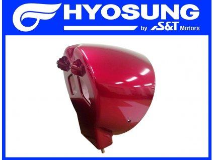 [9] Zadní kryt světlometu / červená perleť (FIG40) - Hyosung GV 650i P