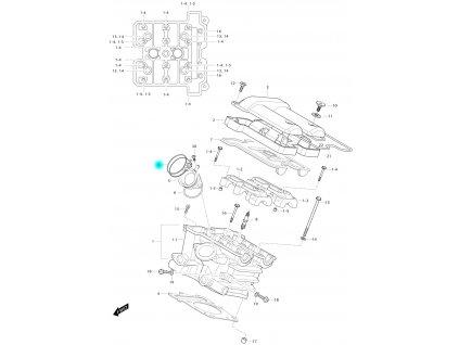 [6] Šroubová spona (FIG01h) - Hyosung GV 650 Fi & LE30