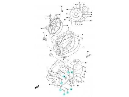 [11] Šroub (FIG05) - Hyosung GT 650 N