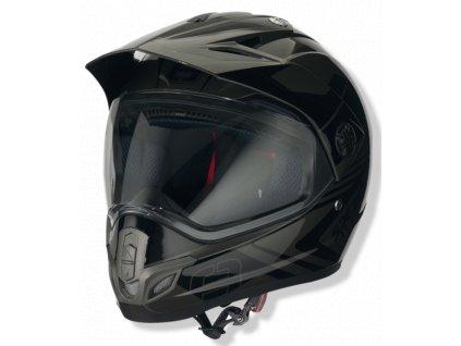 Helma SPEEDS X-STREET / antracitovo-černá lesklá