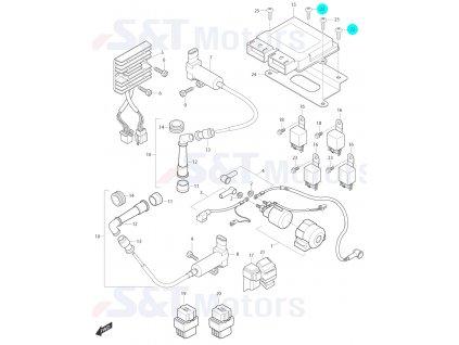 [22] Šroub (FIG24) - Hyosung ST 700i