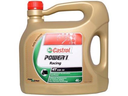 Motorový olej CASTROL POWER 1 Racing 4T 10W-50, 4 Litry