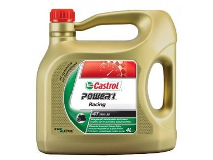 Motorový olej CASTROL POWER 1 Racing 4T 10W-30, 4 Litry