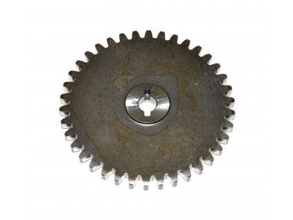 [2] Ozubené kolo (olejové čerpadlo a filtr) - Hyosung GSP 125 Hyper / Grand Prix