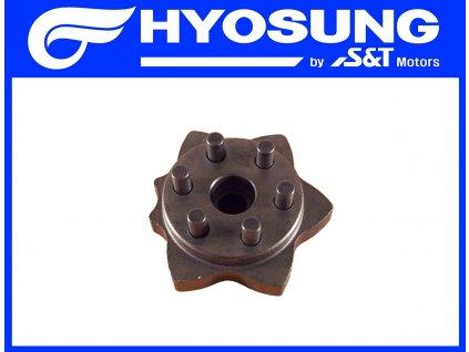 [7] Vačkové kolo (systém převodového řazení) - Hyosung GT 650 N