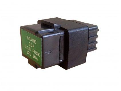 [není na obr.] Schránka s pojistkou 12V 30A (baterie) - Hyosung GV 250